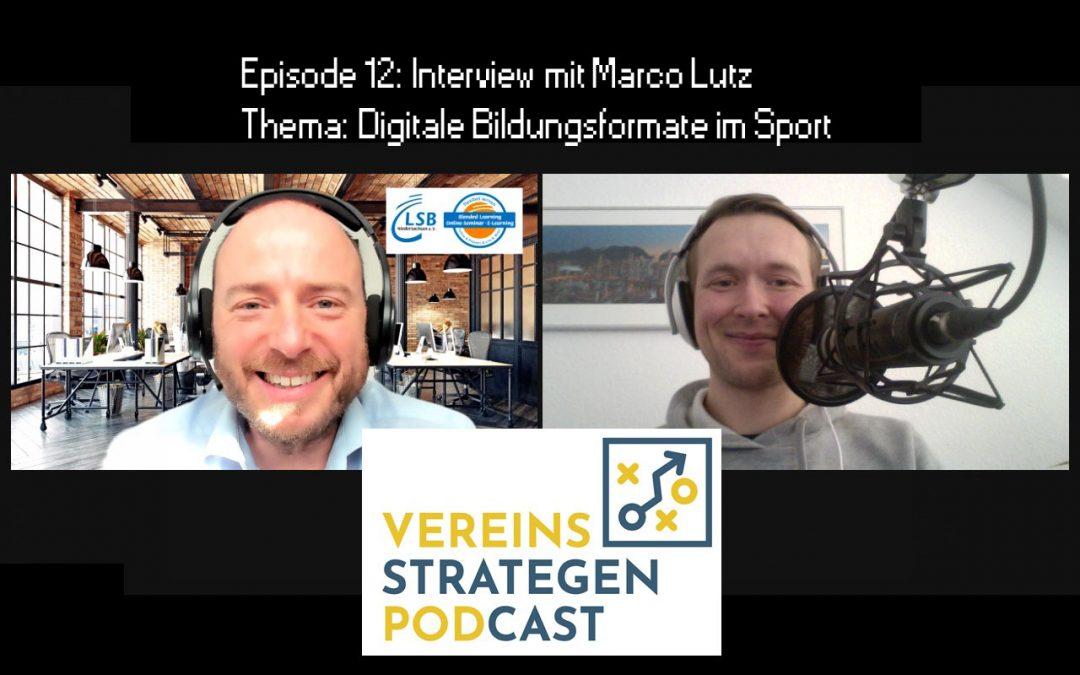 Digitale Bildungsangebote im Sport